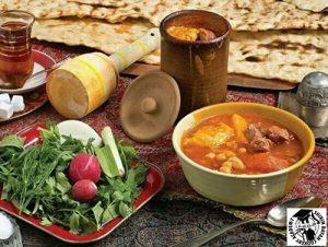 طرز تهیه آبگوشت لپه و لیمو عمانی | شیرین بیان