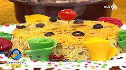 طرز تهیه قارچ پلو | شیرین بیان
