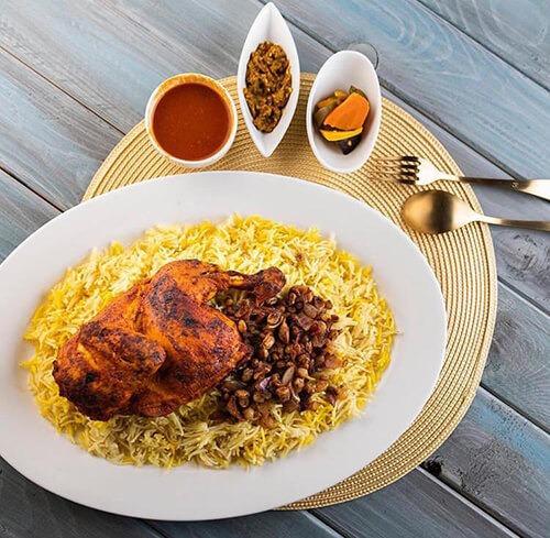طرز تهیه حَشو (پیاز مرغ)|غذای عربی | شیرین بیان