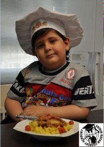 ماکارونی با سس کنگر | غذای کودک | شیرین بیان
