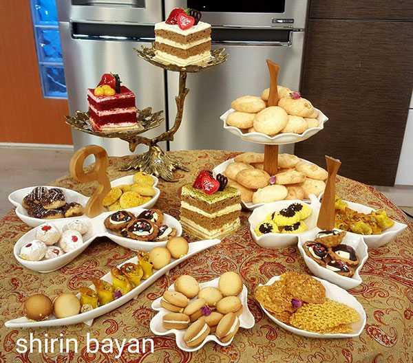 آموزش شیرینی نارگیلی | شيرين بيان